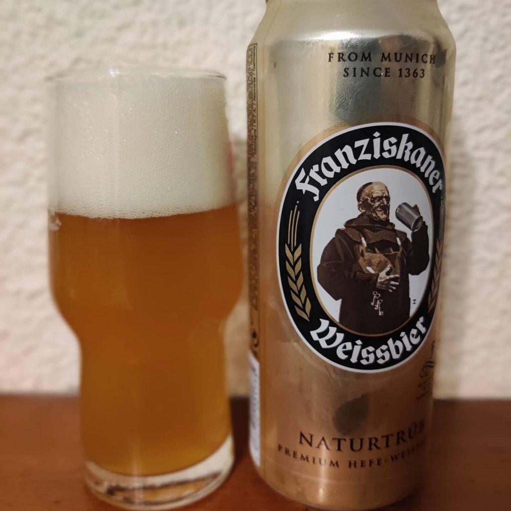 Cerveza Franziskaner, Franziskaner Weissbier - Hefe-Weissbier Naturtrüb 2