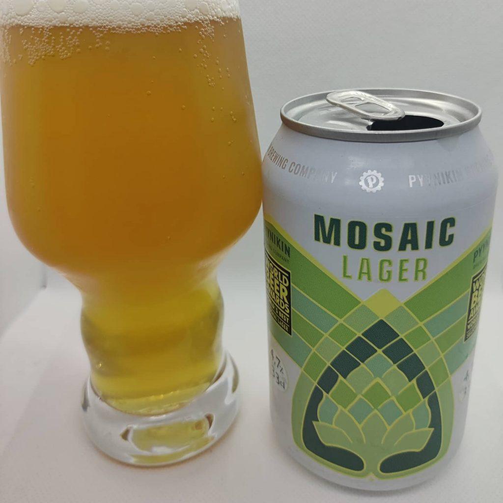 Cerveza Mosaic Lager de Pyynikin Brewing 2