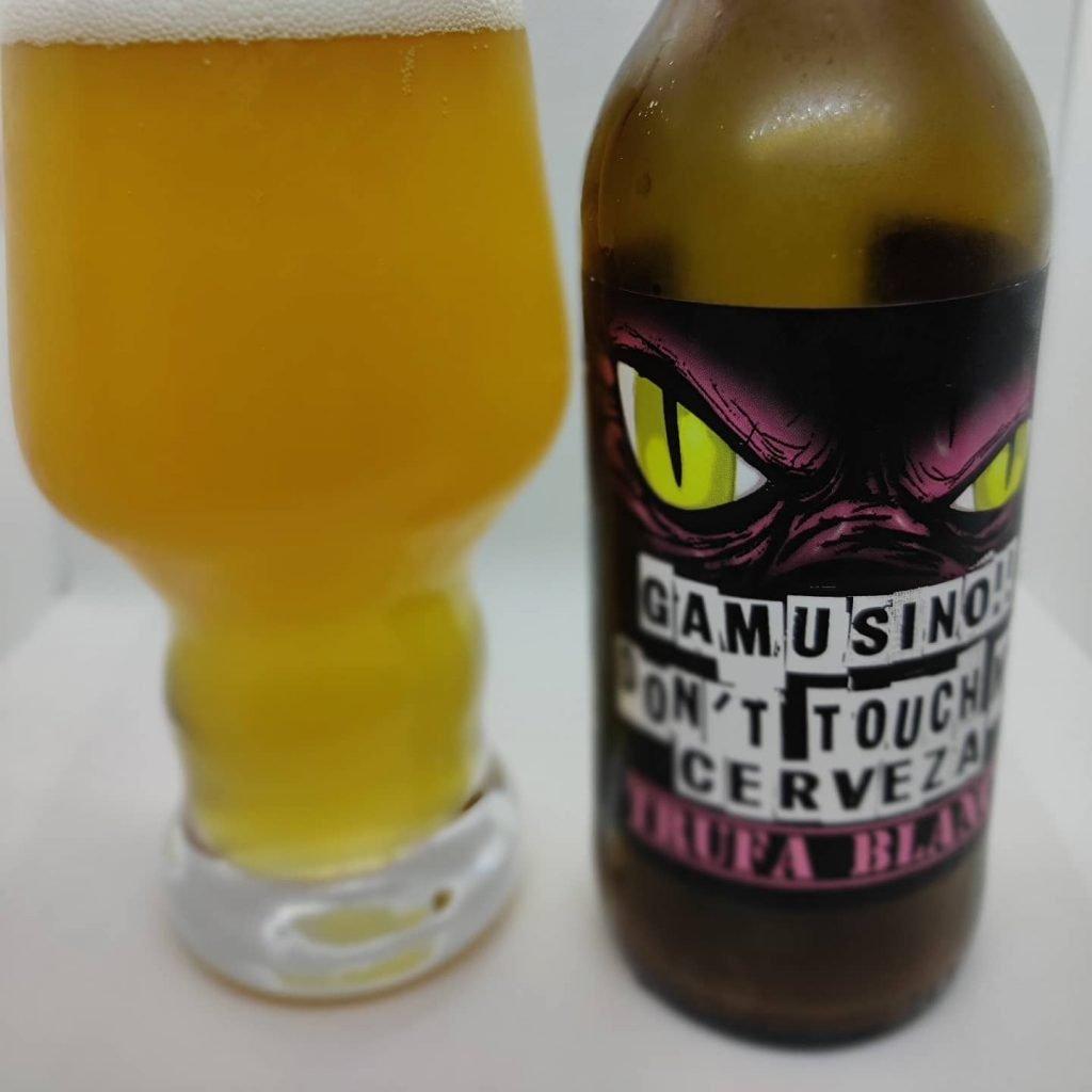 Cerveza Gamusinos Trufa Blanca 2