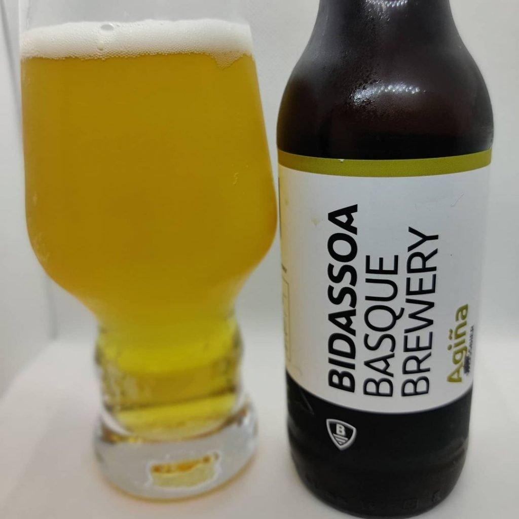 Cerveza Bidassoa Agiña 2