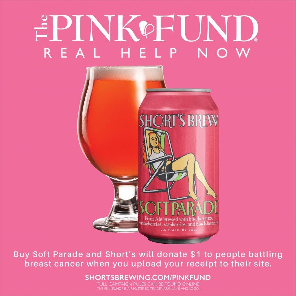 Short's Brewing Co.Anuncia asociación con The Pink Fund para apoyar a pacientes con cáncer de mama 10
