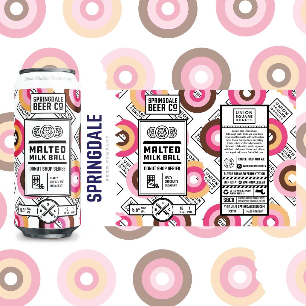 Springdale Beer Co. y Union Square Donuts se unen para una colaboración de cerveza y donas de edición limitada 3
